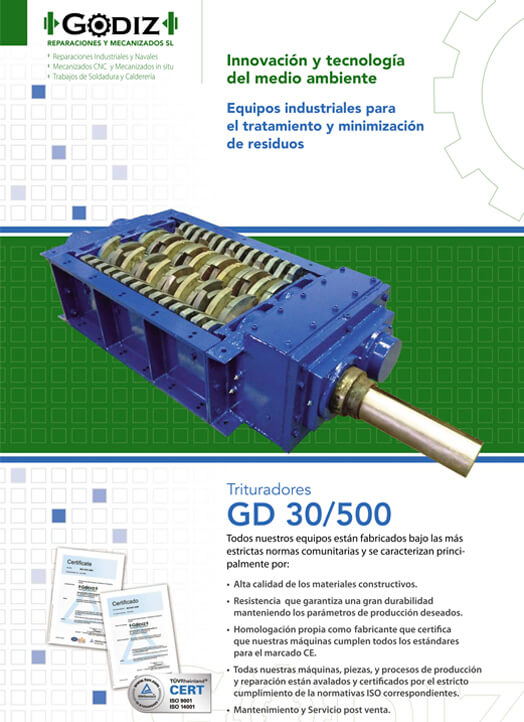 Trituradores GD30-500