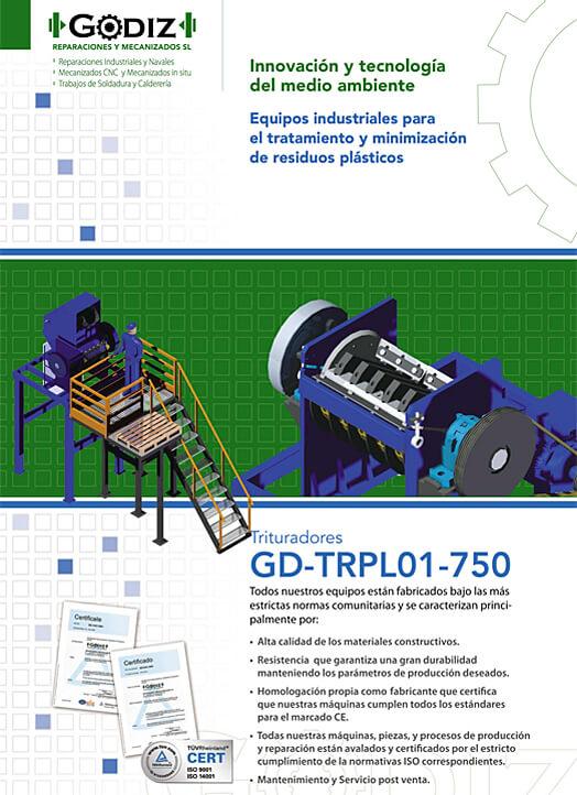 Trituradores GD-TRPL01-750
